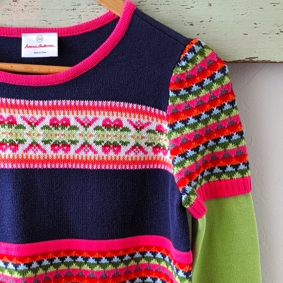 HANNA ANDERSSON I Knit Tunic Sweater, 160/14, NWOT